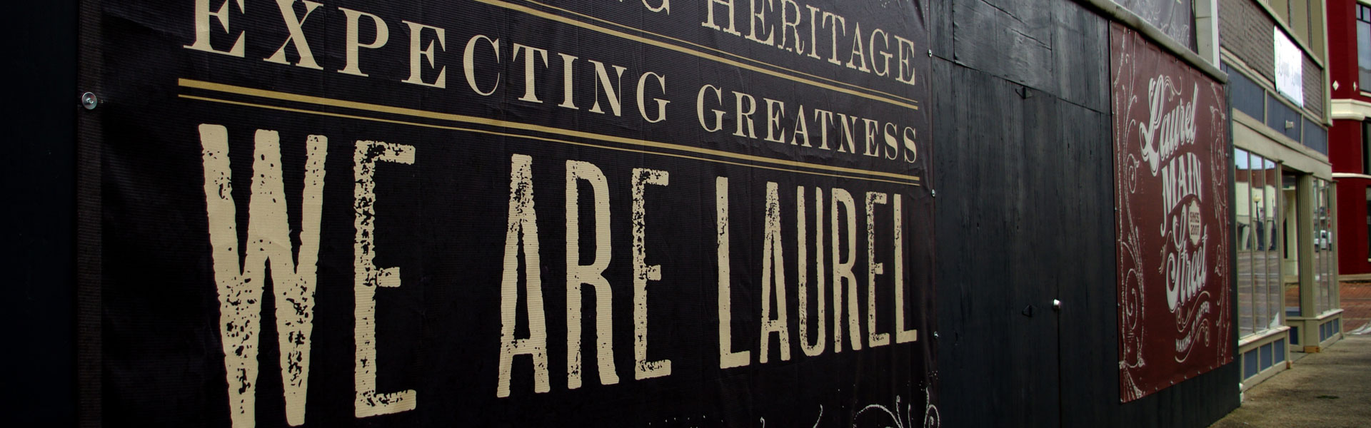 We are Laurel Banner