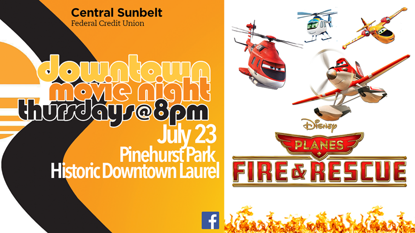 The City of Laurel, Planes: Fire & Rescue