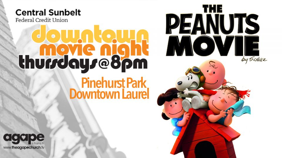 The City of Laurel, Downtown Movie Night: The Peanuts Movie