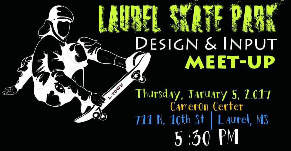 The City of Laurel, Skate Park Design Input Meeting