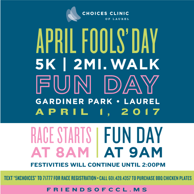The City of Laurel, Choices 5K Fun Day