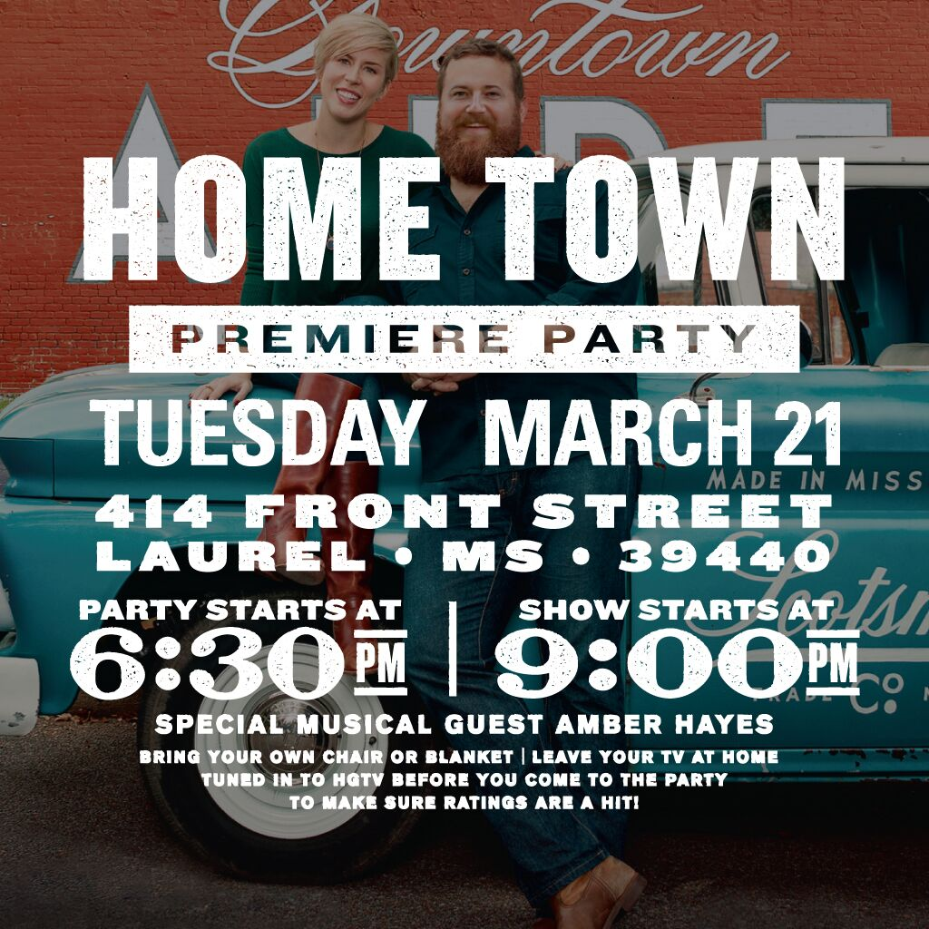 The City of Laurel, Home Town Premiere Party