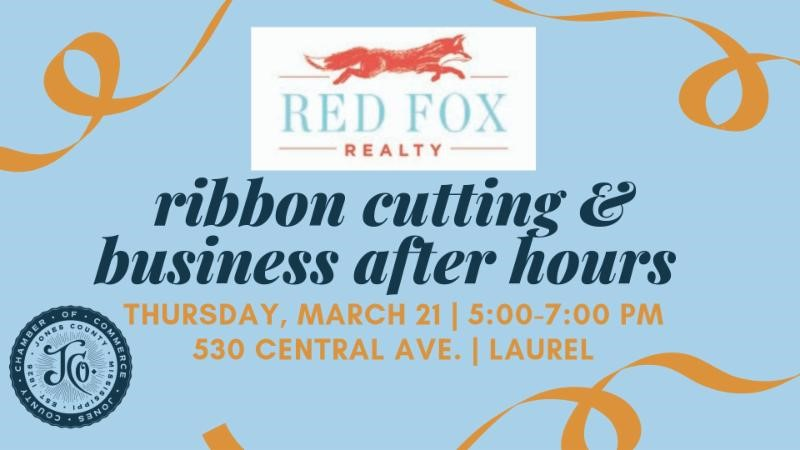 The City of Laurel, Red Fox Realty Ribbon Cutting & Business After Hours