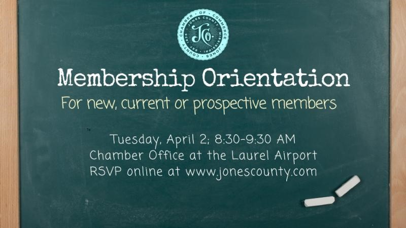 The City of Laurel, Chamber Membership Orientation for New, Current & Prospective Members