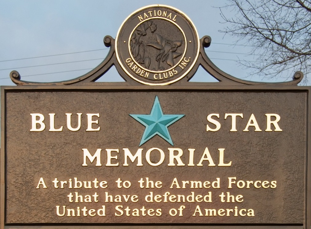 The City of Laurel, Blue Star Memorial Ceremony
