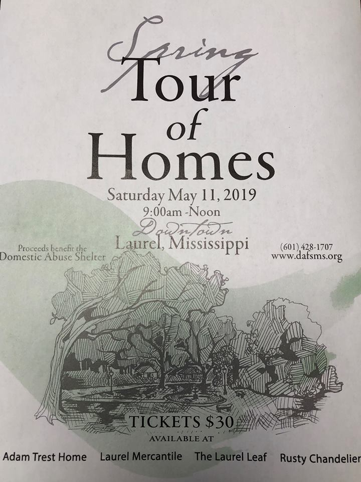 The City of Laurel, Spring Tour of Homes