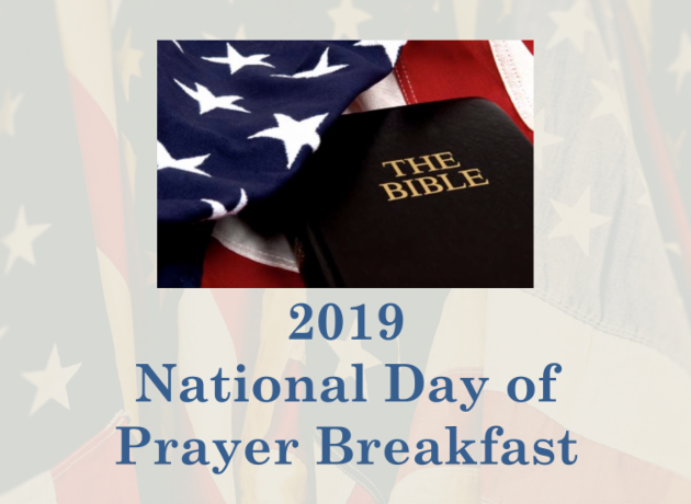 The City of Laurel, National Day of Prayer Breakfast