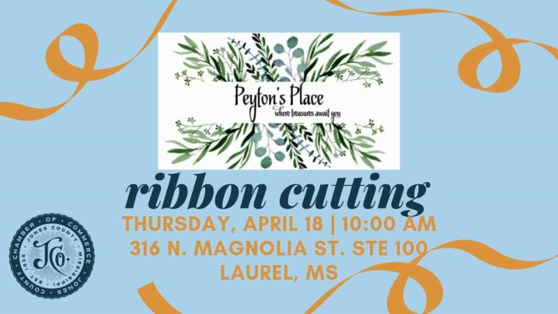 The City of Laurel, Peyton's Place Ribbon Cutting