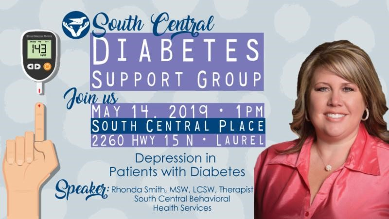The City of Laurel, South Central Diabetes Support Group