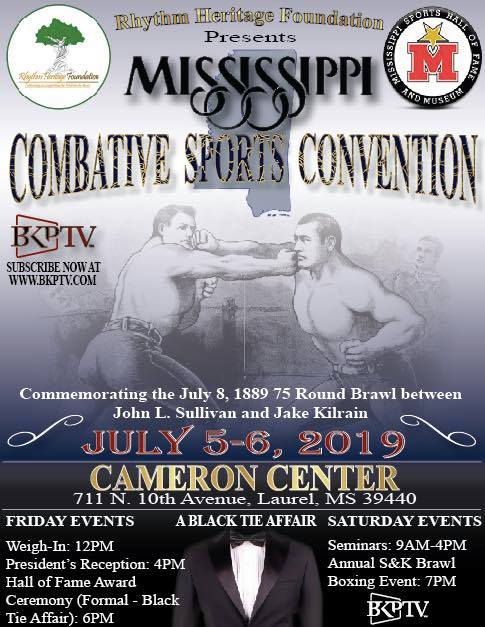 The City of Laurel, Mississippi Combative Sports Convention