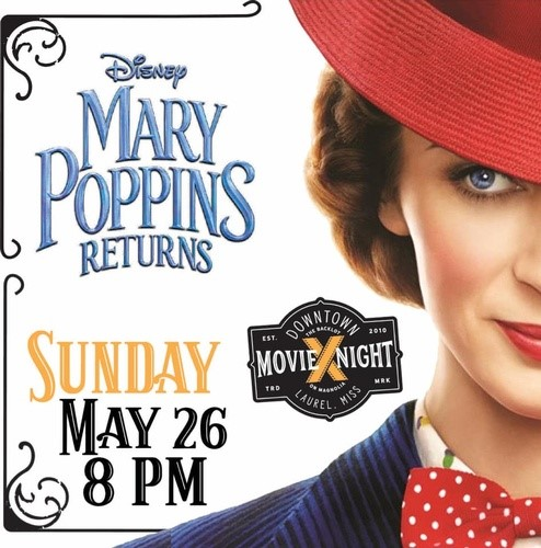 The City of Laurel, Downtown Movie Preview Night: Mary Poppins Returns