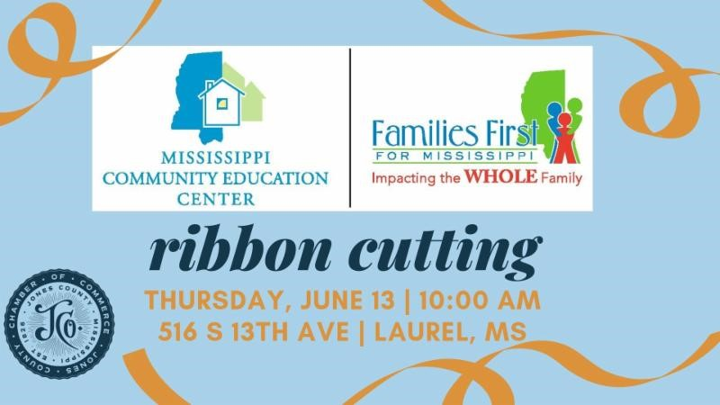 The City of Laurel, Families First for Mississippi/MCEC Ribbon Cutting