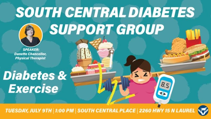 The City of Laurel, Diabetes Support Group