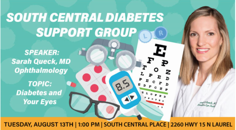 The City of Laurel, South Central Diabetes Support Group Diabetes and Eye Care
