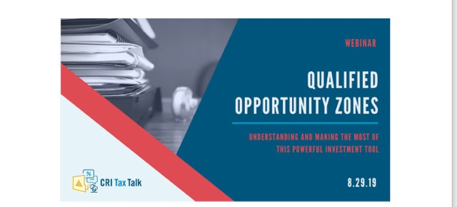 The City of Laurel, Free Webinar:  Understanding Opportunity Zones