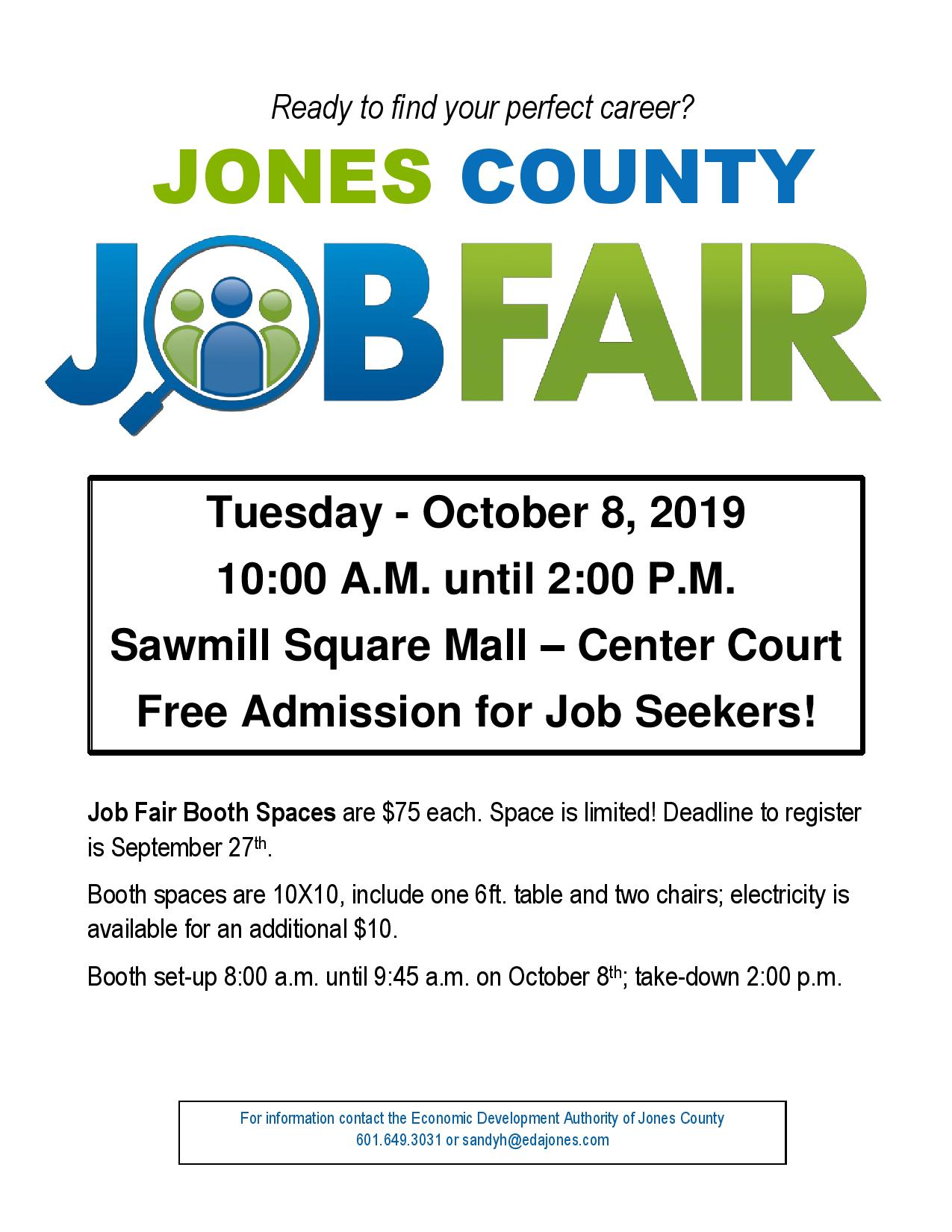 The City of Laurel, Jones County Job Fair