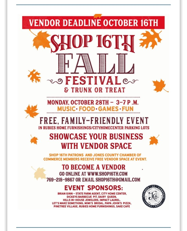 The City of Laurel, Shop 16th Fall Festival & Trunk or Treat