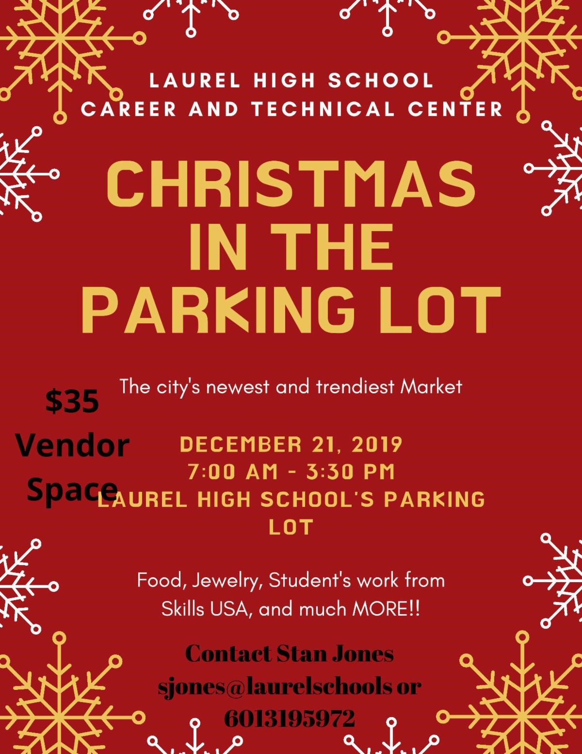 The City of Laurel, Christmas in the Parking Lot
