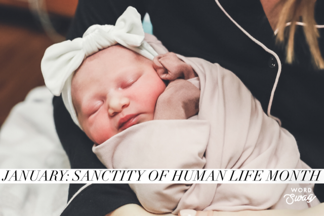The City of Laurel, Sanctity of Human Life Event