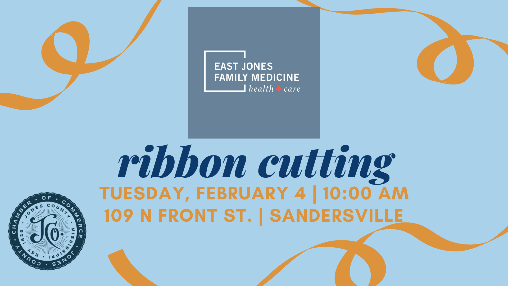 The City of Laurel, East Jones Family Medicine Ribbon Cutting