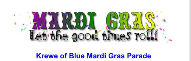 The City of Laurel, Krewe of Blue Mardi Gras Parade