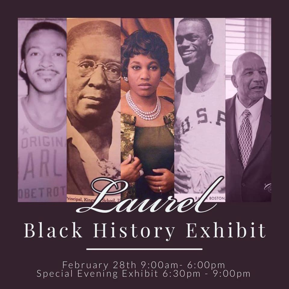 The City of Laurel, Laurel Black History Exhibit