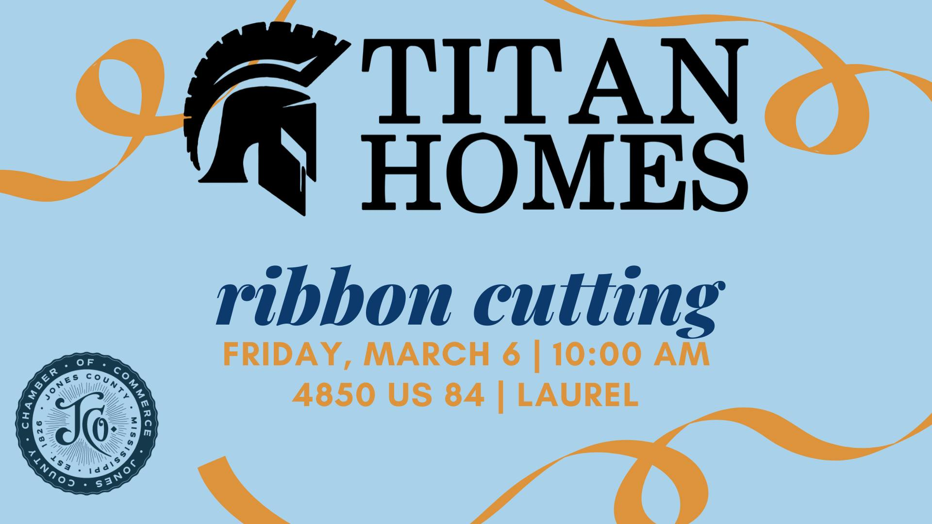 The City of Laurel, Titan Homes of Laurel Ribbon Cutting