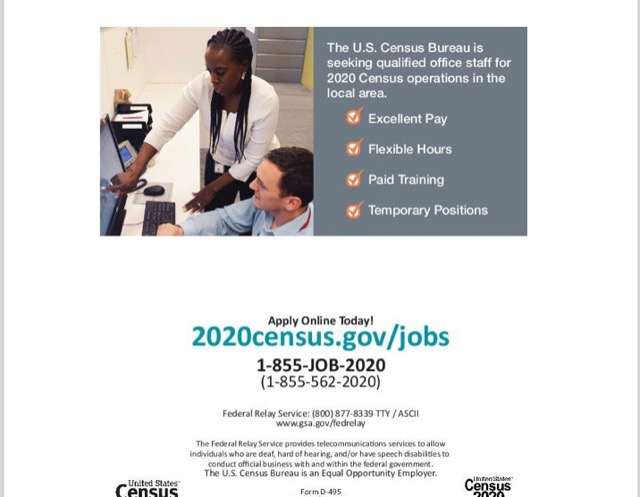 The City of Laurel, 2020 Census Job Fair