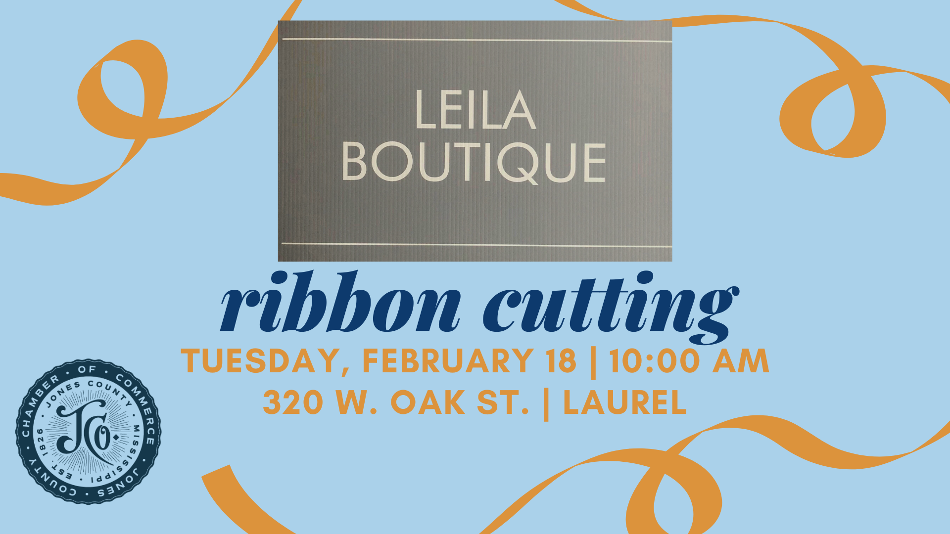 The City of Laurel, Leila Boutique Ribbon Cutting