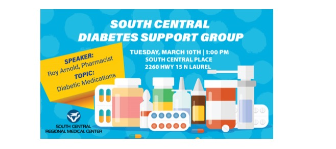 The City of Laurel, SCRMC Diabetes Support Group