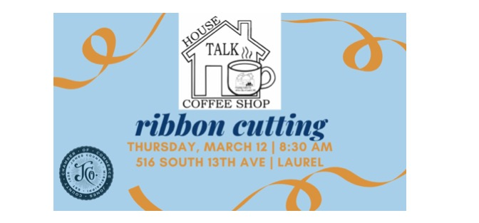 The City of Laurel, House Talk Coffee Shop Ribbon Cutting