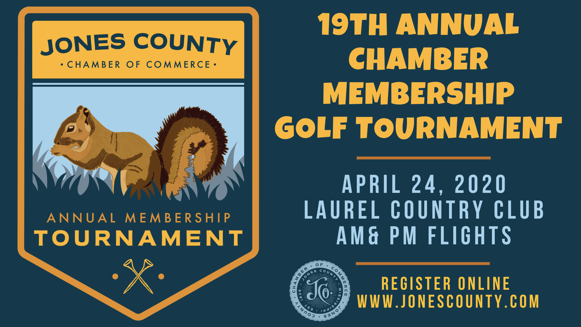 The City of Laurel, 19th Annual Chamber Golf Tournament