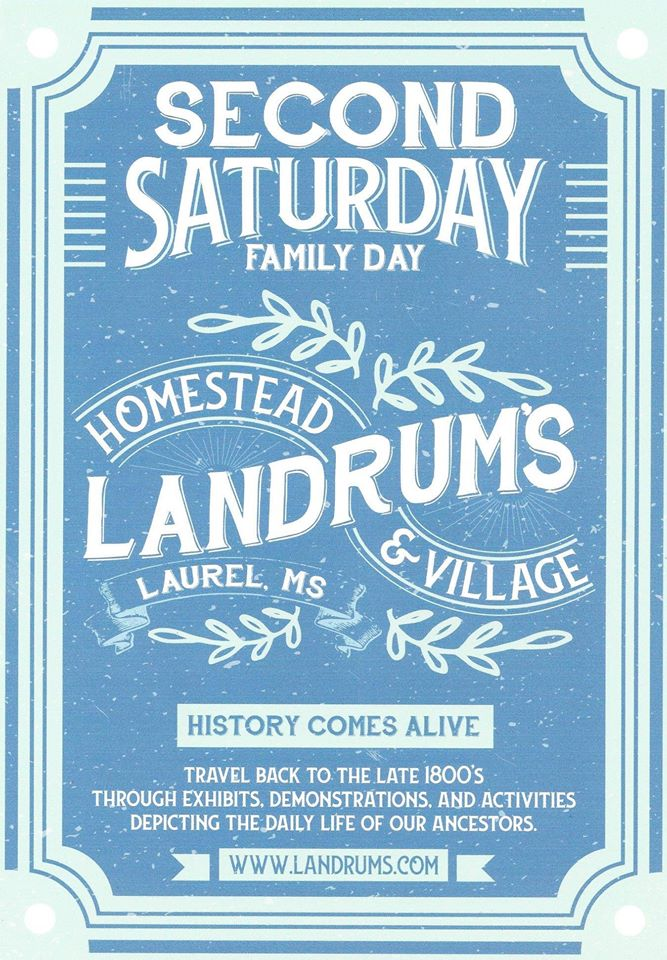 The City of Laurel, Second Saturday Family Day