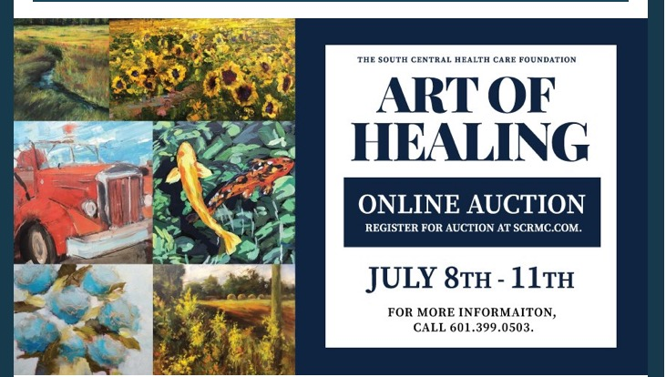 The City of Laurel, 12th Annual Art of Healing Online Auction