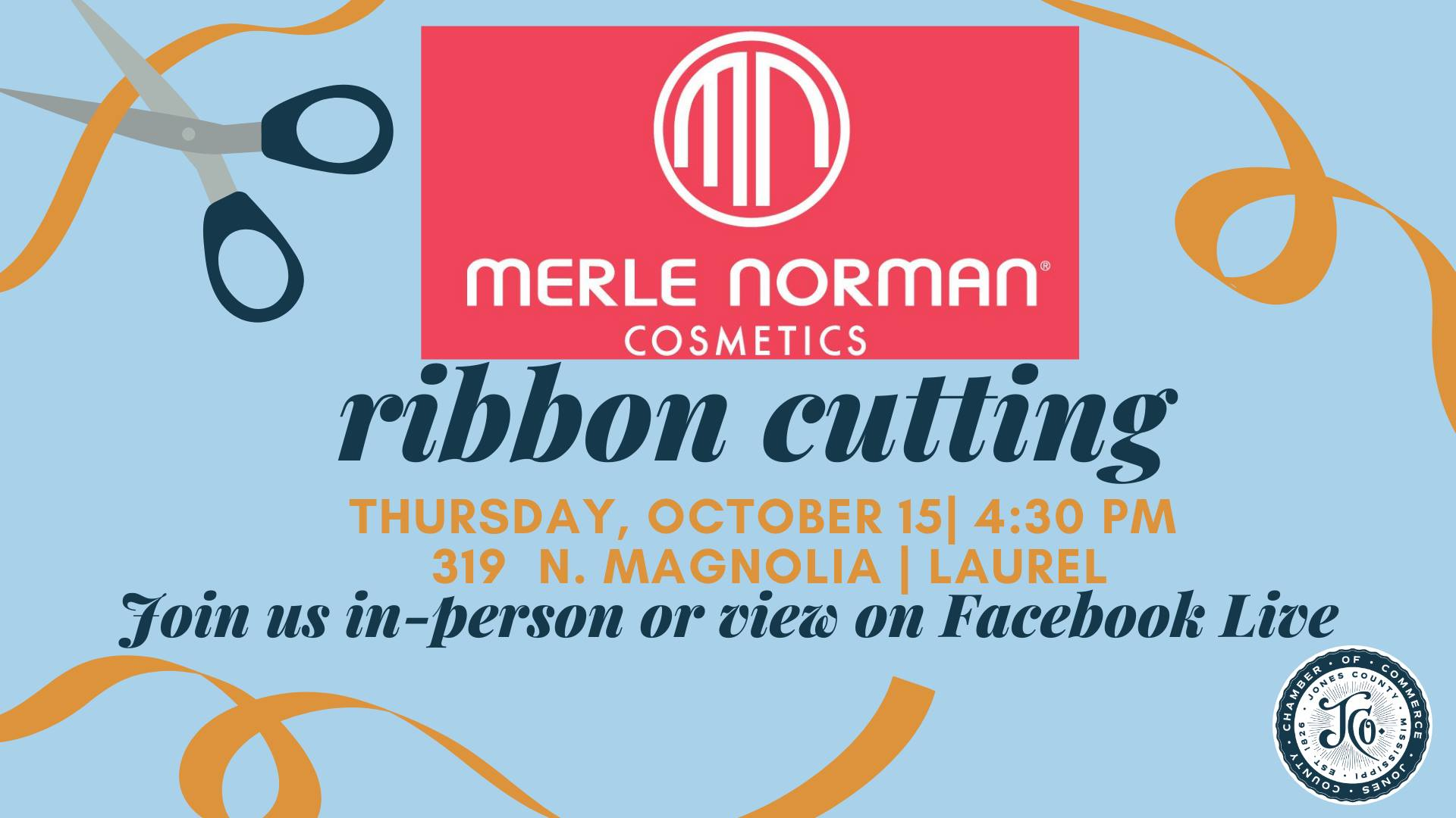 The City of Laurel, Ribbon Cutting – Merle Norman