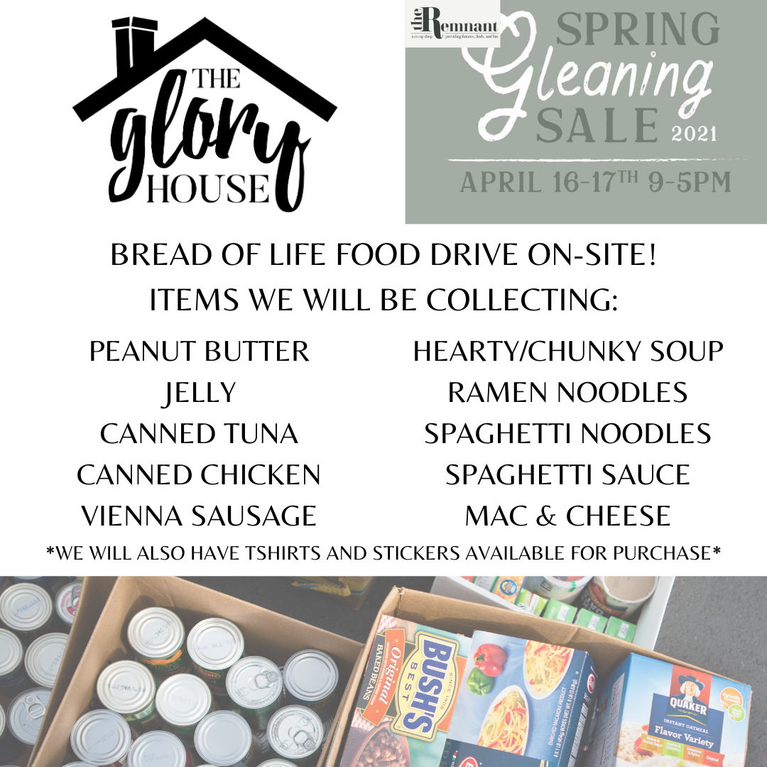 The City of Laurel, The Glory House Food Drive