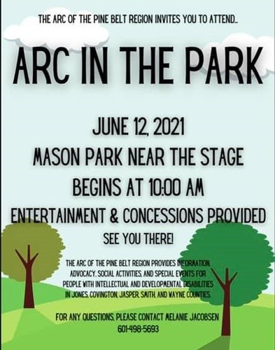 The City of Laurel, Arc in the Park